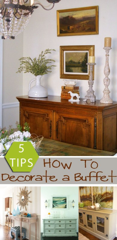 5 tips how to decorate a buffet