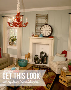 Get This Look - Casual Beach Themed Living Room copy