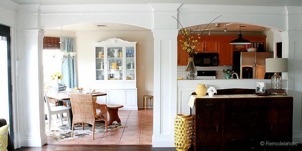 Weekend Projects: Build Faux Columns and Archways