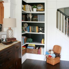 Diy Floating Shelves For My Living Room Ceiling Design Gallery Remodelaholic | Playroom Makeover With Built-in Cabinets ...