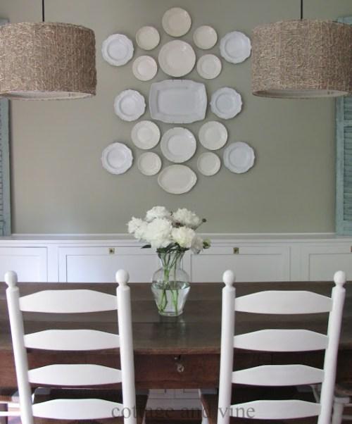 beauitiful dish display idea