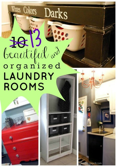 13 Beautiful and Organized Laundry Rooms