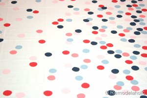 confetti drapes tutorial polka dot drapes girls bedroom window coverings window panels (19)