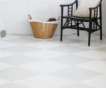 how to paint a concrete floor tutorial
