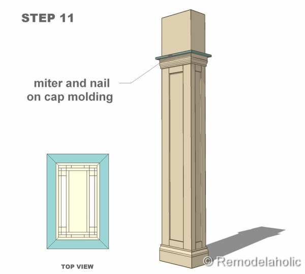 step 11 column construction final