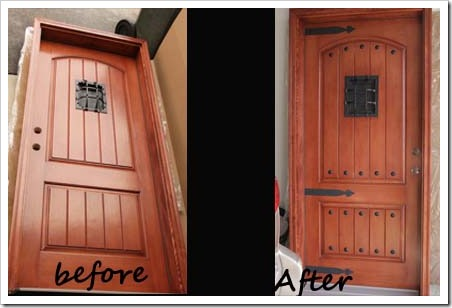 tuscan door transformation