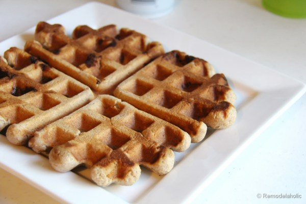 Fast Belgian Waffles Recipe-6