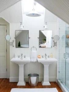 bright white bath for two