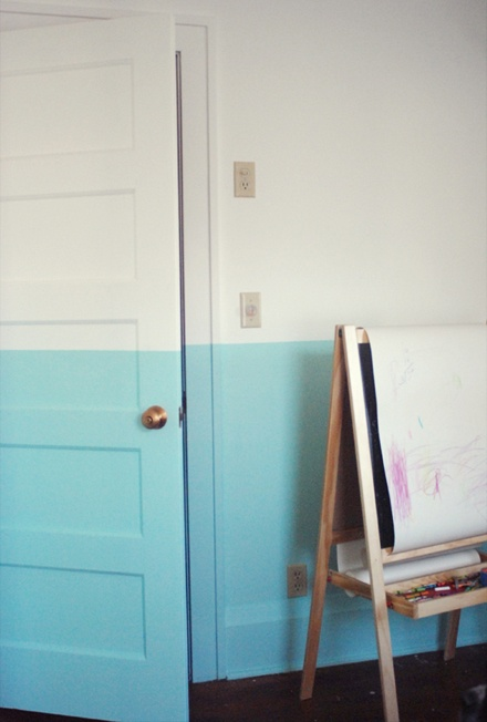 color cblocking walls