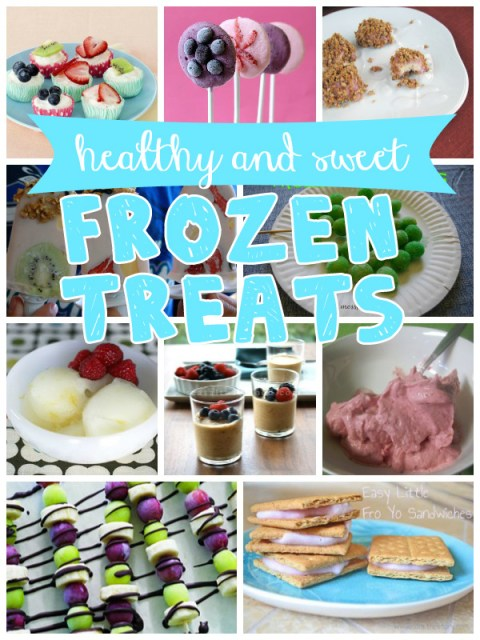 sweet and healthy frozen treats recipes