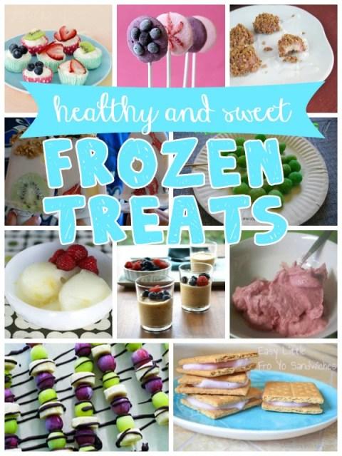 sweet and healthy frozen treats recipes