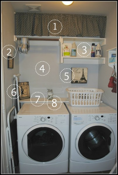 laundry room updates, Six Cents