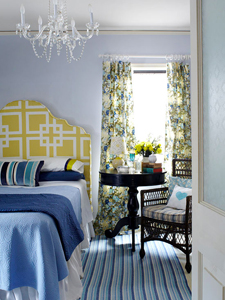 patterned master bedroom thumb