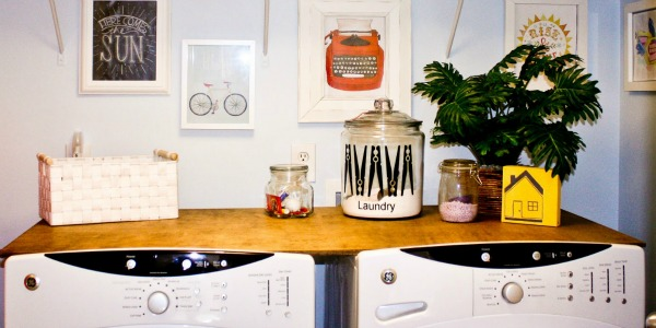 25+ Ideas for Small Laundry Spaces