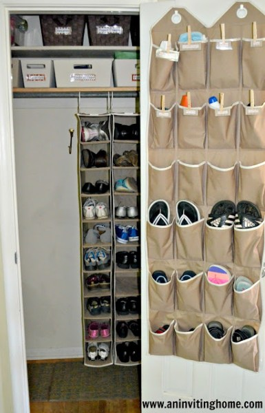 vertical closet mudroom, An Inviting Home