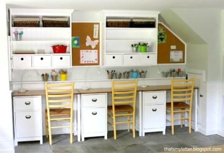 8-30 diy wall hutch study desk, That's My Letter