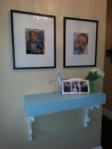 8-30 hallway shelf, A Sister's Home