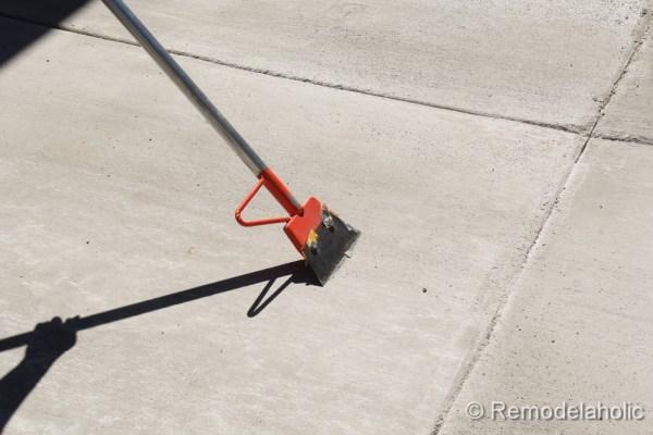 DIY concrete patio part two-28-2