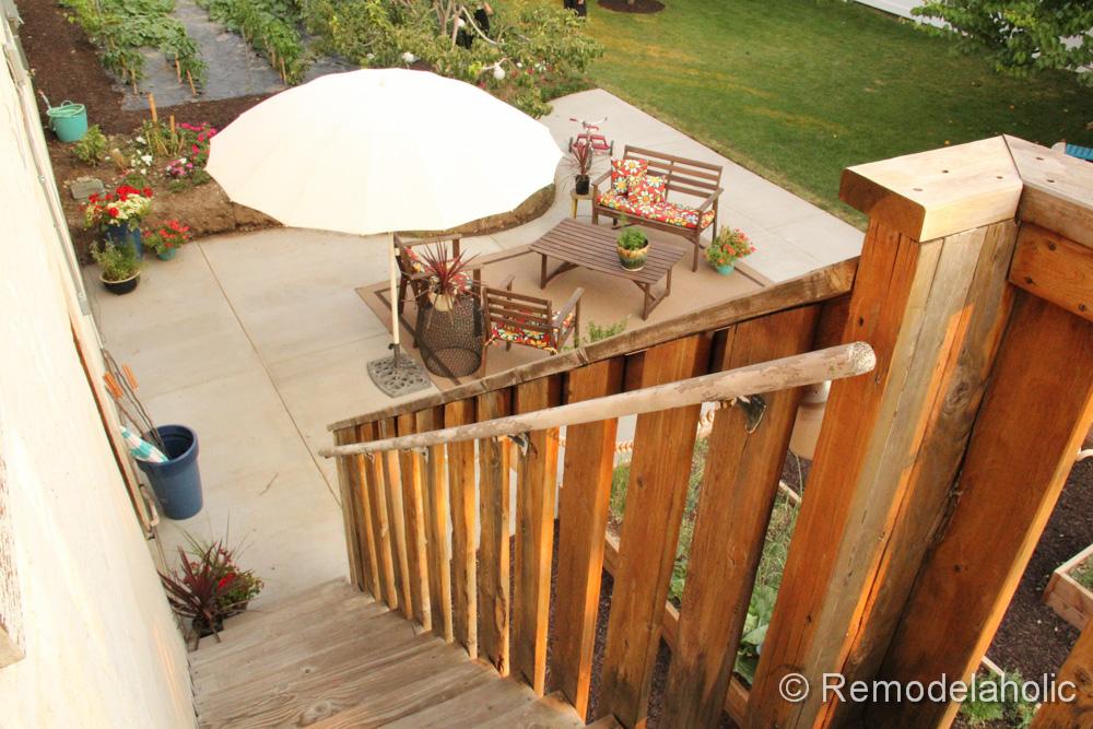 DIY Concrete Patio Part Two 47 2