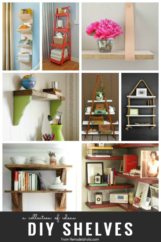 shelving ideas 25 great diy shelving ideas remodelaholic 1338