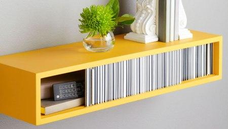 Lowe's, floating storage shelf
