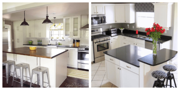 Small Kitchen Remodel Ideas Featured On Remodelaholic.com