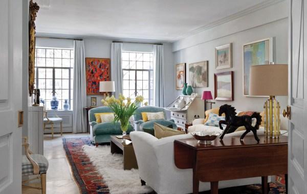 Living Room, Art Deco Apartment in the El Dorado NYC | Design by Design Development NYC | Photography by Trevor Tondro | featured at Remodelaholic.com #artdeco #design #decor #nyc