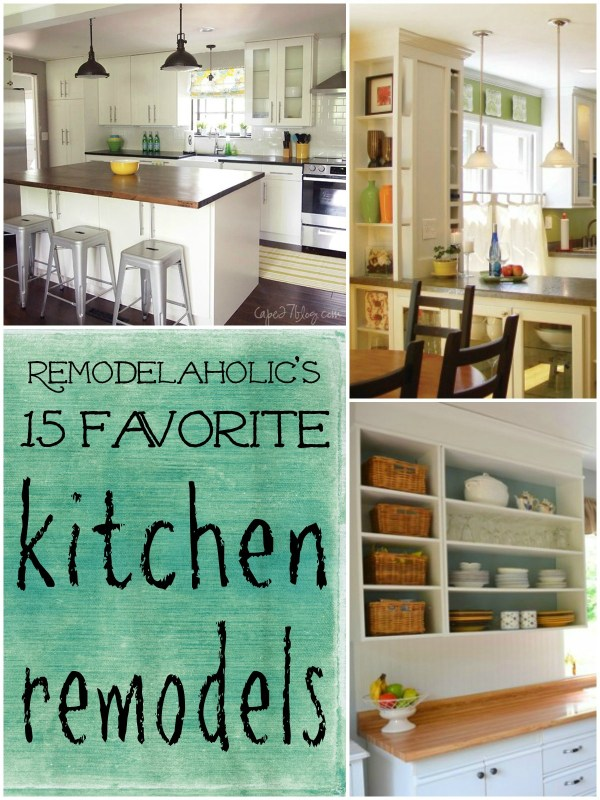 Best of Remodelaholic | Kitchen Remodels #remodeling #kitchen #budget @Remodelaholic