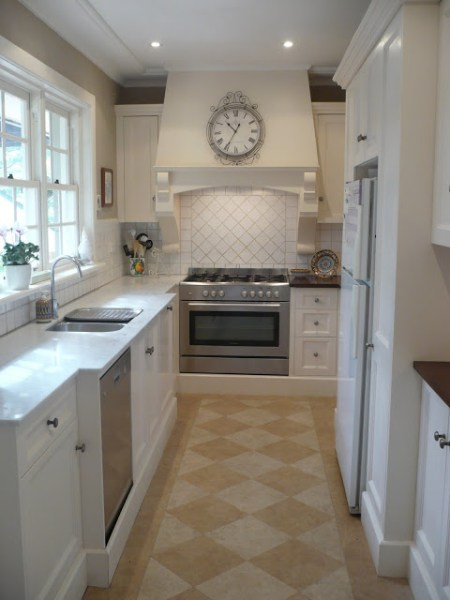 best kitchen remodel ideas -- galley kitchen renovation, A Sense of Design on Remodelaholic