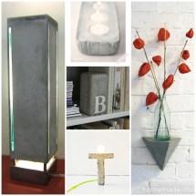 Diy Concrete Project Ideas