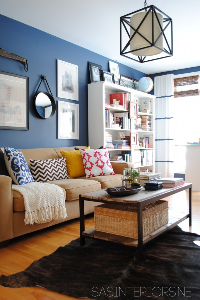 casual living room. Cute Colorful Casual Living Room, SAS Interiors Room