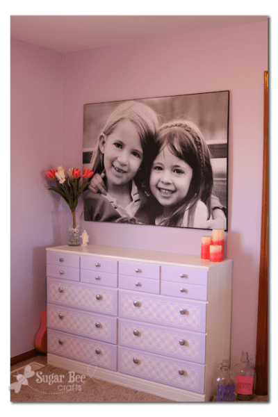 giant picture for under $20, Sugar Bee Crafts