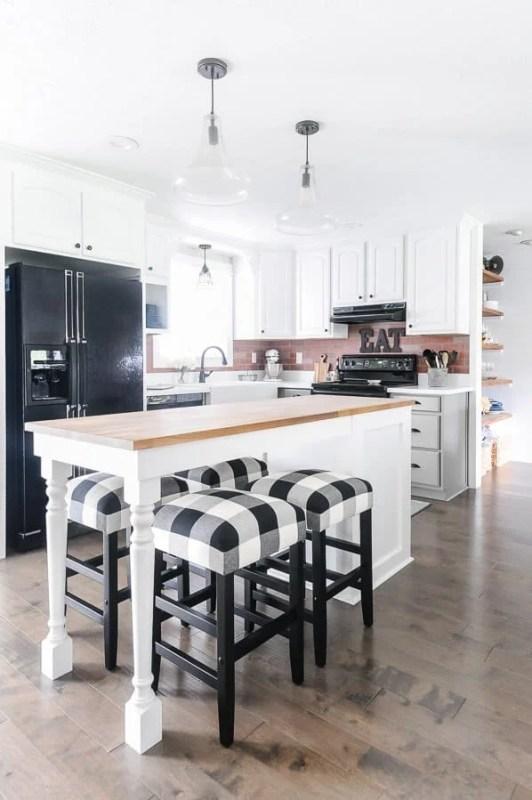 Grey And White Kitchen Renovation, Farmhouse Style, Joyful Derivatives