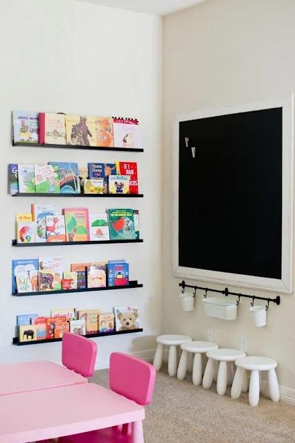 home preschool area, The Sweatman Family