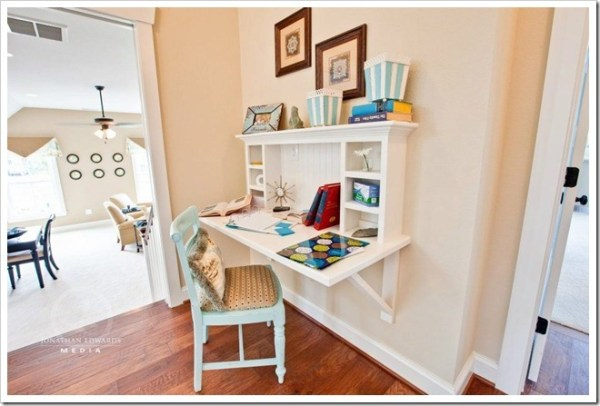 feature homework nook, Stephen Alexander home with designer Sharon of Goodwin Interiors featured at Sand and Sisal