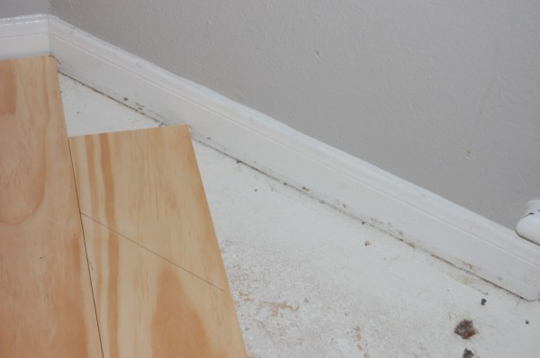 measuring cut angle for wooden tread stair remodel