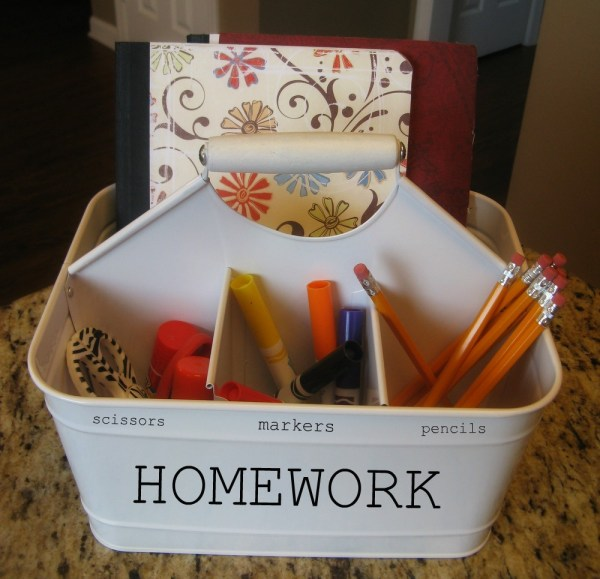 portable homework supply station, Save The Phillips Family