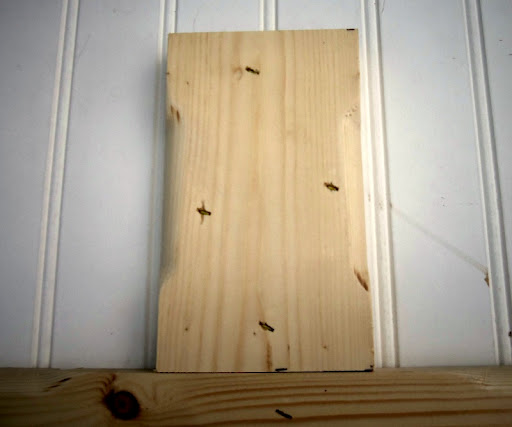 routered board and batten mudroom bench