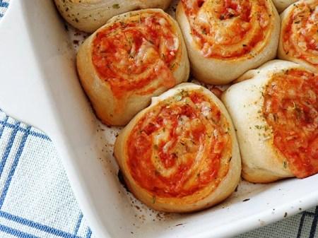 school lunch idea - pizza roll-ups, Recipe Chatter