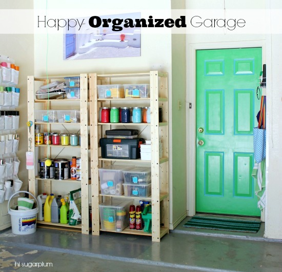 tips for garage organizing, Hi Sugarplum