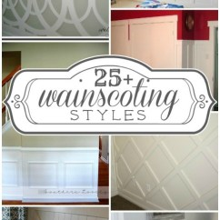 Splitting Living Room Into Bedroom Cheap Furniture 25+ Stylish Wainscoting Ideas - Construction Haven Home ...