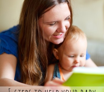 5 Ways To Help Your Baby Love Reading via Tipsaholic