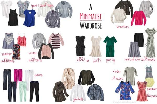9-6 minimalist wardrobe, House for Five