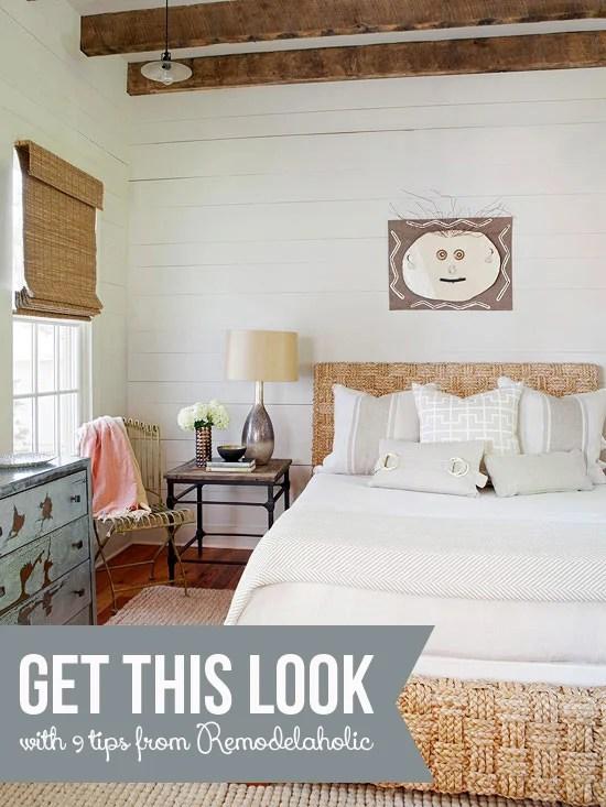 Get This Look Neutral Rustic Bedroom Remodelaholic