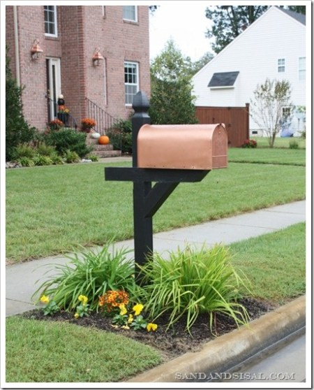 diy copper mailbox, Sand and Sisal