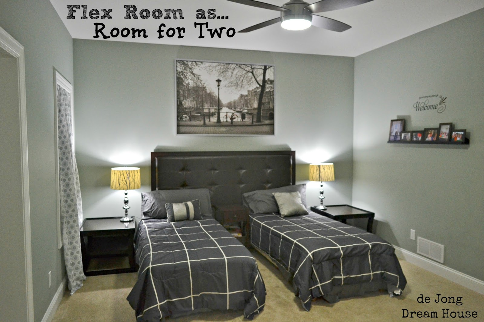 3in1 Flex Room Guest Suite Play Room Room for Two