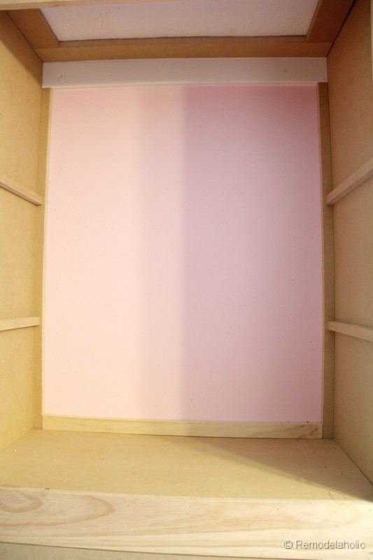 how to build a built-in closet, built-ins from existing furniture upcycl remodelaholic.com-17