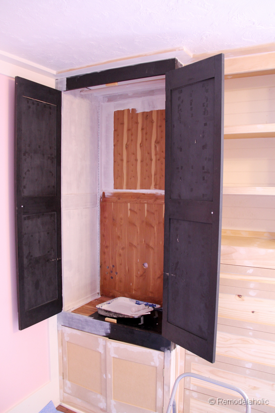 How To Build A Built In Closet, Built Ins From Existing Furniture Upcycle  ...
