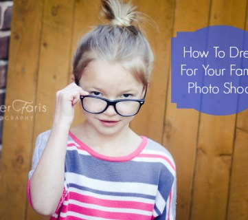 What to Wear for Family Pictures via Tipsaholic.com