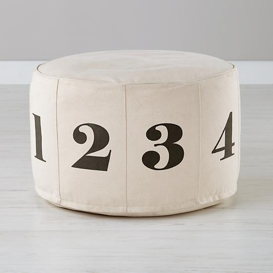 remodelaholic copycat land of nod floor pouf tutorial. Black Bedroom Furniture Sets. Home Design Ideas